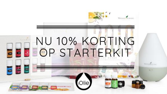 10% korting op de Starterkit!