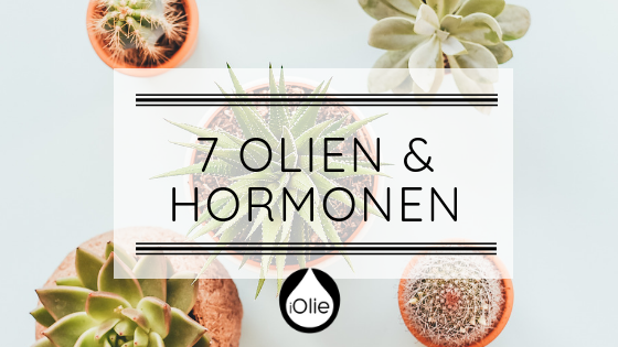 7 essentiele olien & hormonen