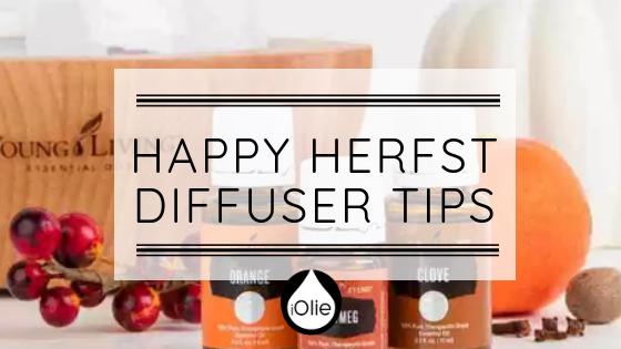 Happy Herfst Diffuser tips