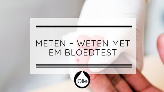 Meten = Weten met EM Bloedtest