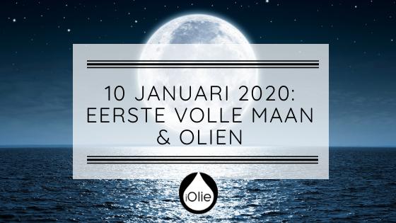 10 januari 2020; Volle maan in Kreeft