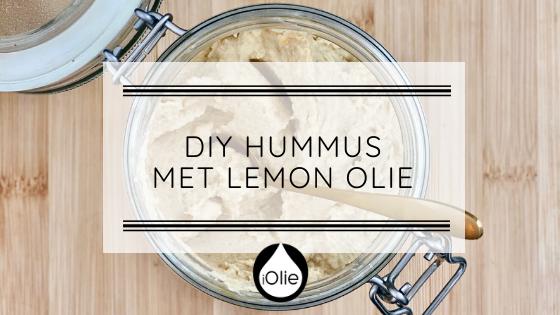 DIY Hummus met Lemon olie